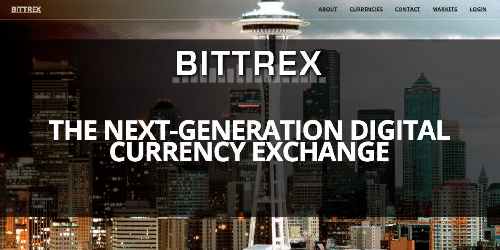 Coinbase alternative #3: Bittrex