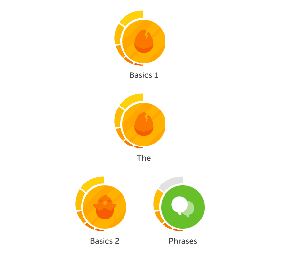 Duolingo review example