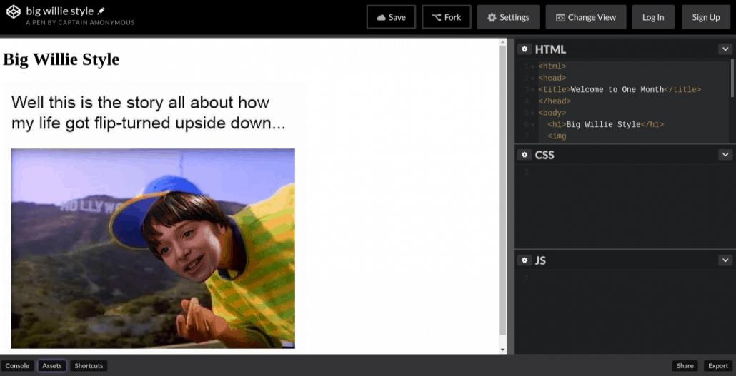 HTML vs. CSS