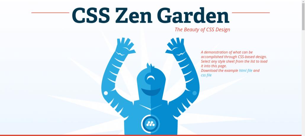 CSS Zen Garden examples