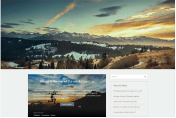 WordPress Theme Example