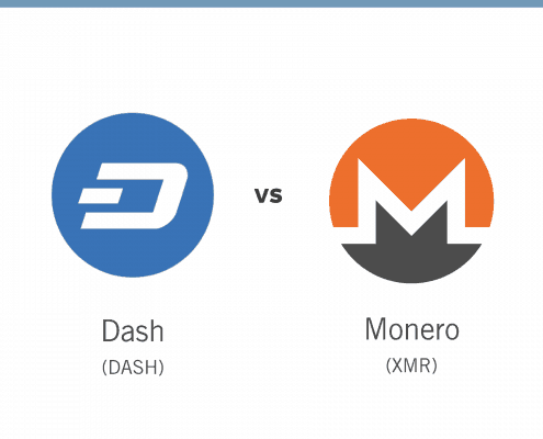 dash vs. monero