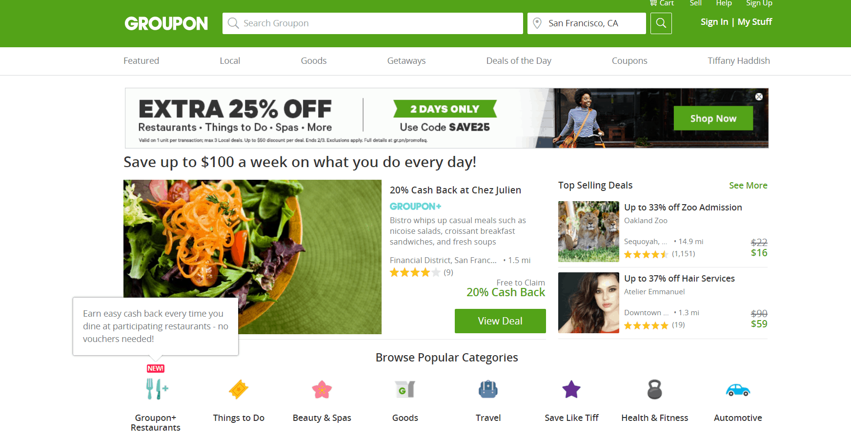 Groupon uses Ruby on Rails