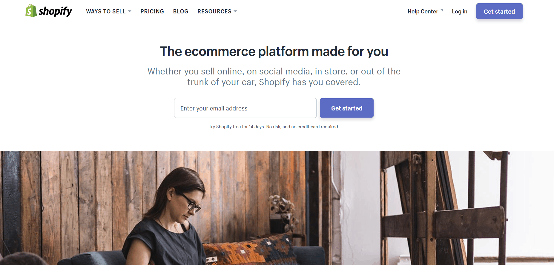 Shopify uses Ruby on Rails