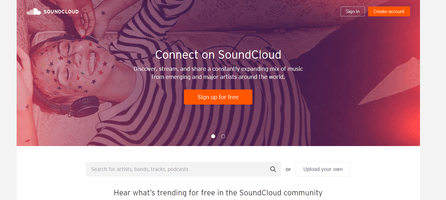 Soundcloud uses Ruby on Rails