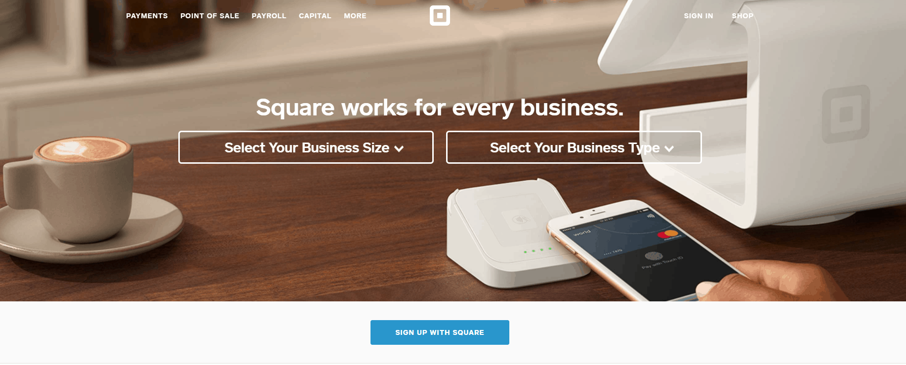 Square uses Ruby on Rails