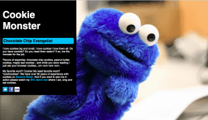 cookie monster html